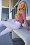 Mermaid Legging - White