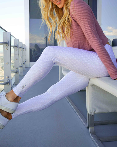 Lele Legging - White/Tan