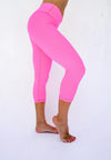 Honeycomb Reversible Capri - Pink