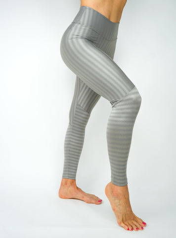 Wave Legging - Slate Grey
