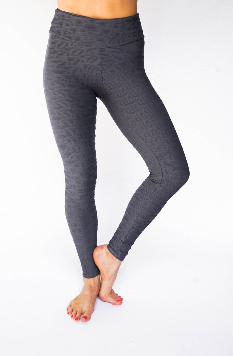 Sage Legging - Grey-Leggings-coco on the go