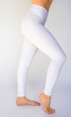 Lilly Legging - White-Leggings-coco on the go
