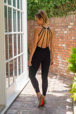 Isabella Jumpsuit | High Neck