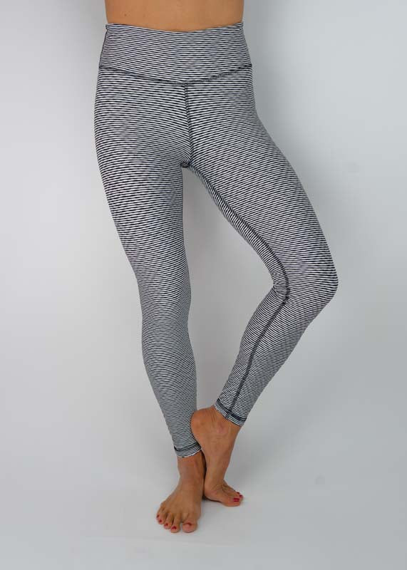 FANDI Reversible Legging-Black/White