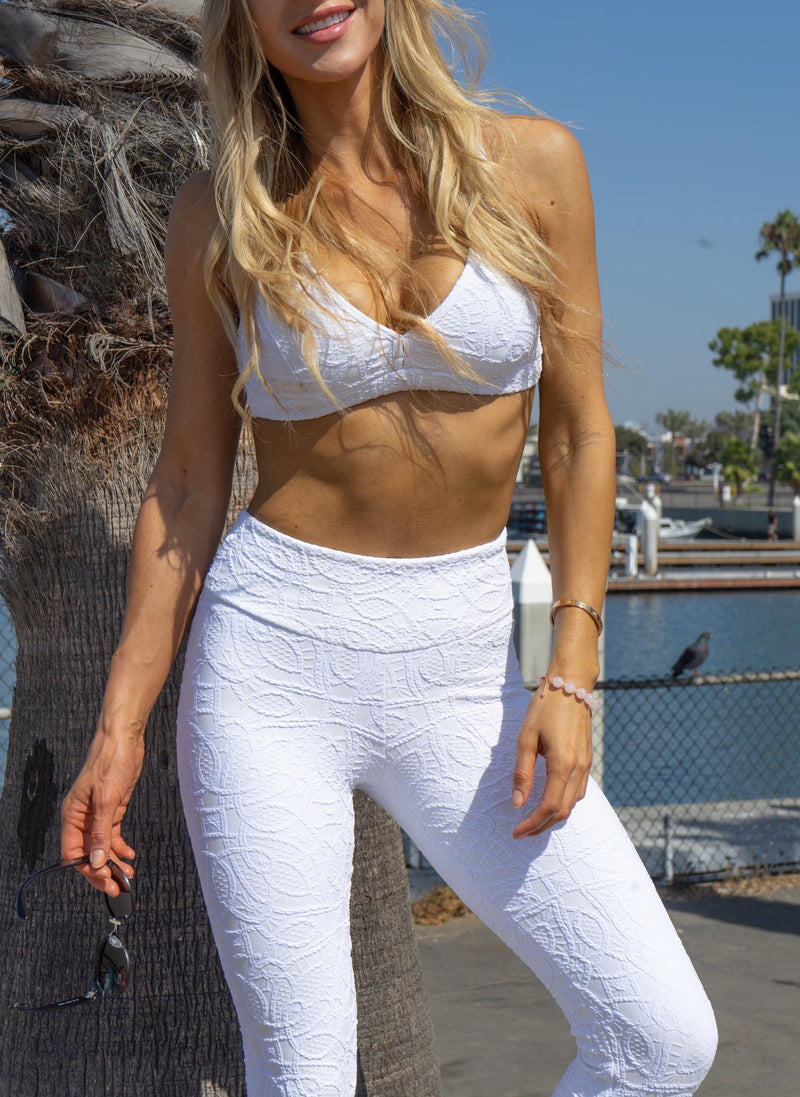 Andrea Legging - White