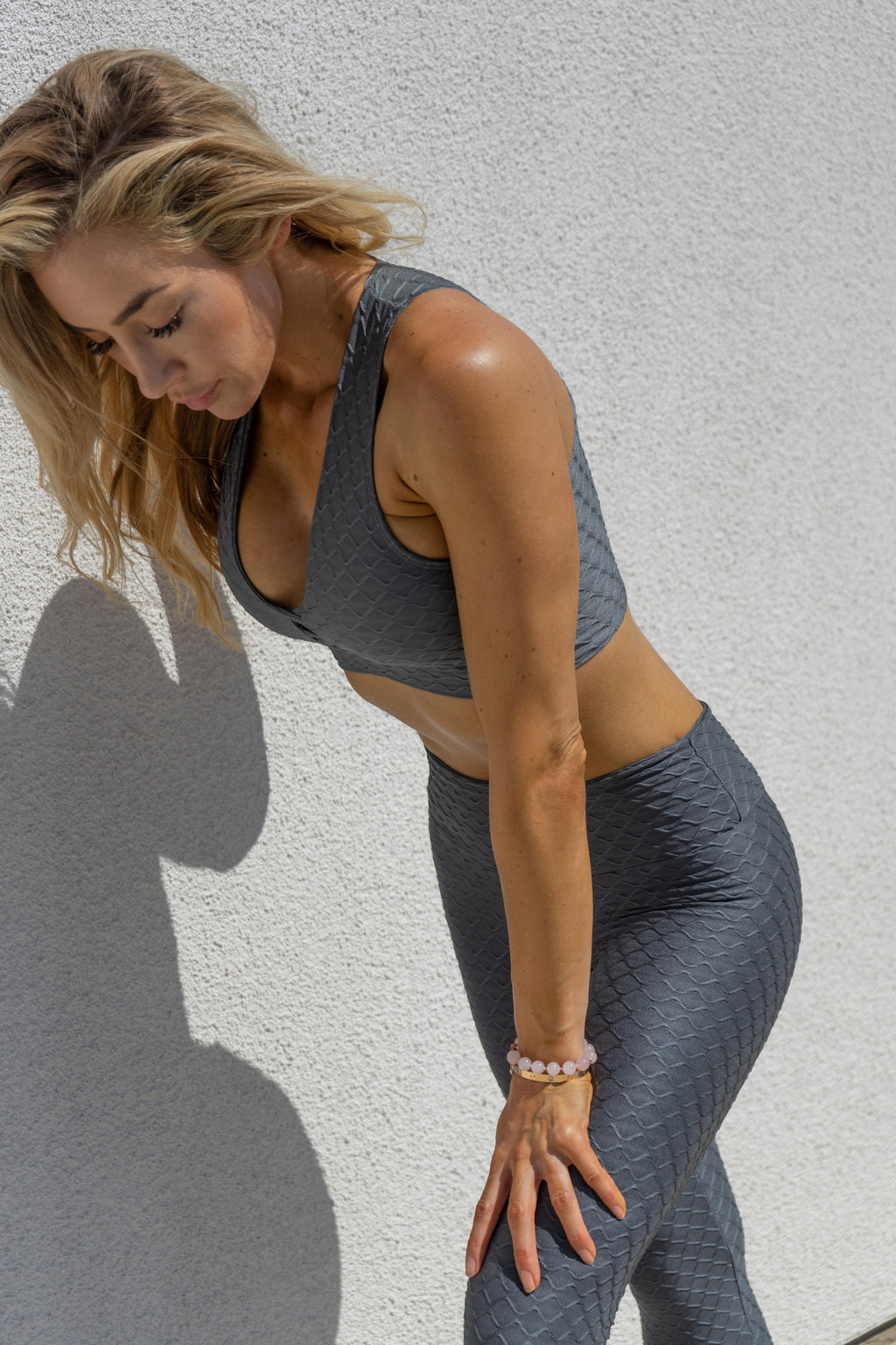 Mermaid Legging - Grey