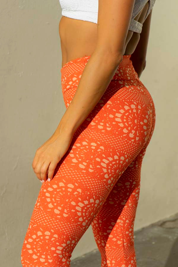 Alex Legging - Orange