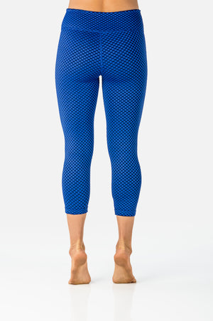 Haley Reversible - Royal Blue-Leggings-coco on the go