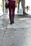 Lilly Legging - Cranberry