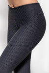 Wave Legging - Slate Grey-Leggings-coco on the go