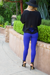 Rhea Legging. ROYAL Blue
