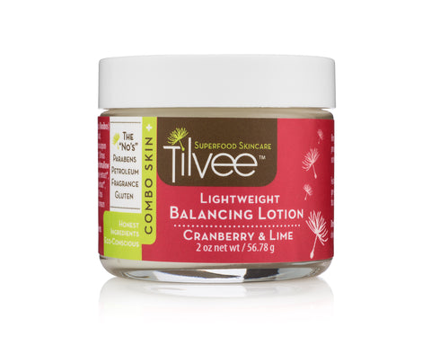 Cranberry Balancing Facial Lotion for oily, normal and acne prone skin types