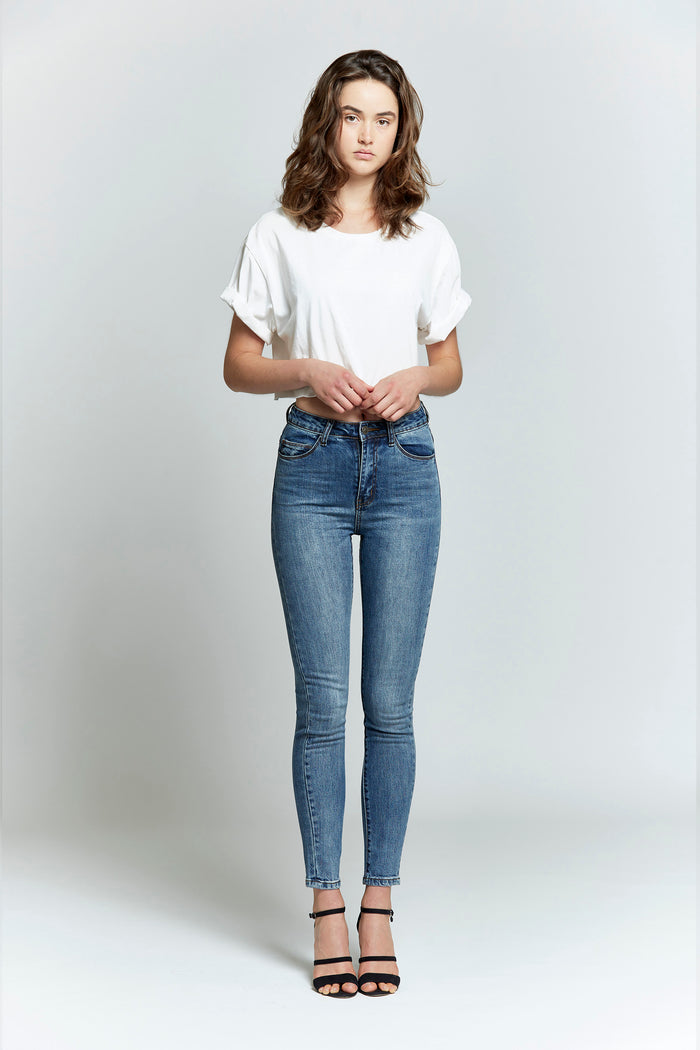 Ruby High Rise Skinny Jean