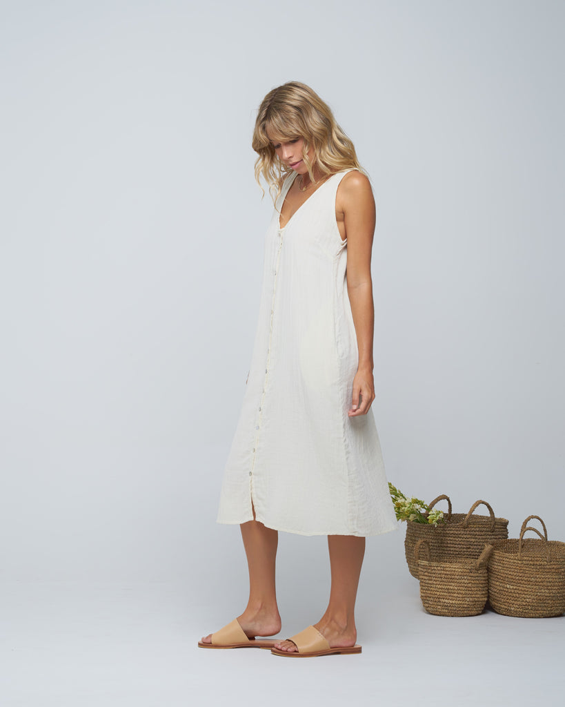 PUSHKAR Dress - Ivory