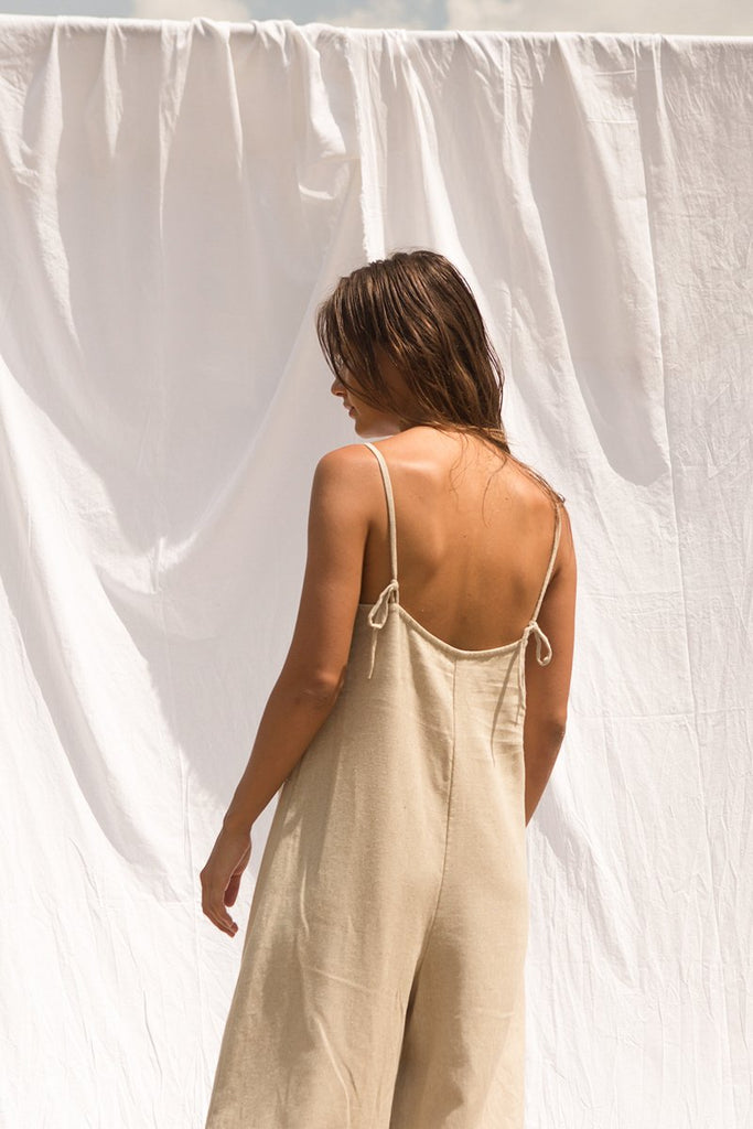 Winona Jumpsuit In Natural