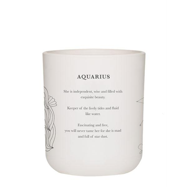 AQUARIUS - LRG CANDLE