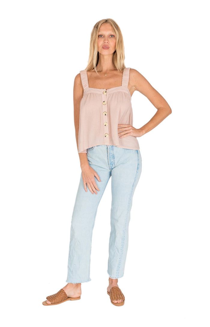 Poppy Top Dusty Pink