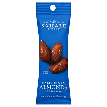 SAHALE • Dry Roasted California Almonds + Sea Salt
