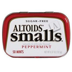 Altoids Smalls Sugarfree Peppermint Mints