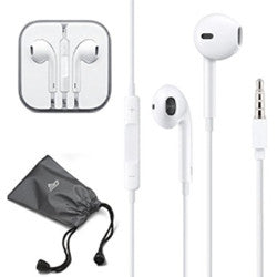 idgood In-Ear Stereo Headphones with Remote and Mic