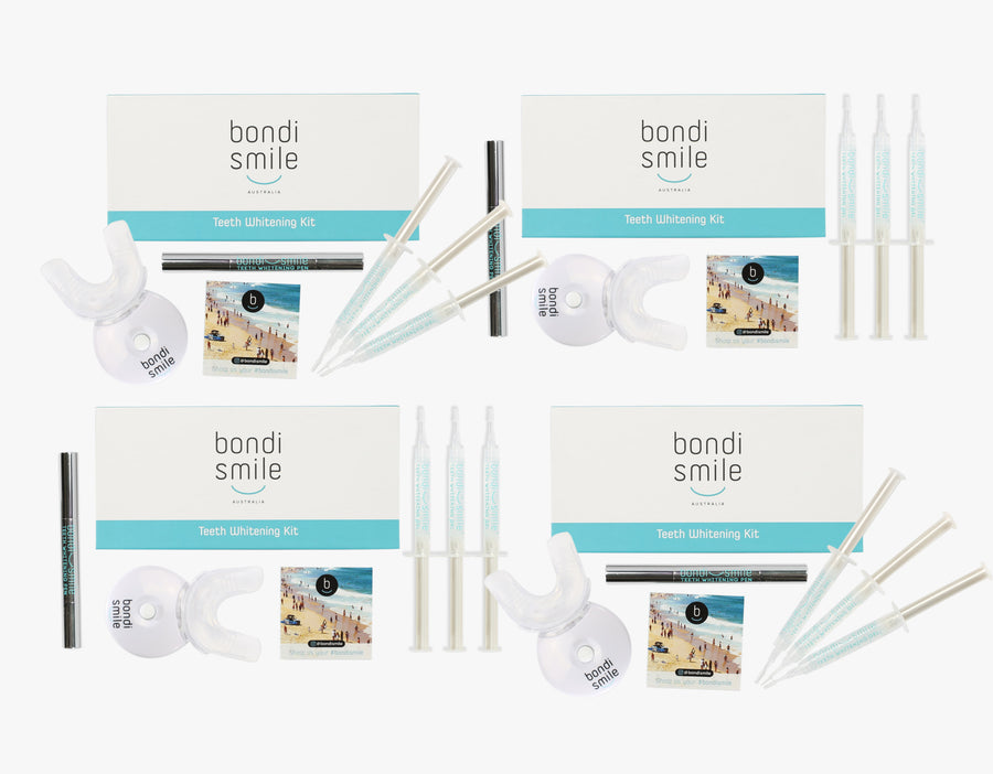 Bondi Smile Teeth Whitening Squad Pack
