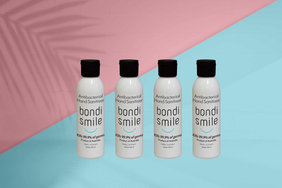 Bondi Smile Hand Sanitiser - 4 x 125ml Bottles