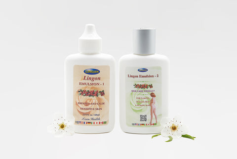 lingon emulsion 1 & 2 bottle