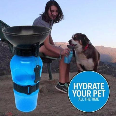 Outdoor Dog Water Bowl Bottle