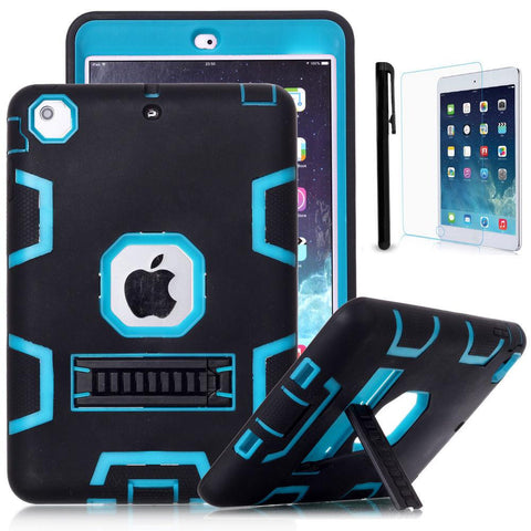 Heavy Duty Shockproof Case Cover For iPad Air 2 iPad Mini