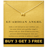 14K Gold Plated Guardian Angel Necklace Buy 2 Get 2 Free [Free Shipping]