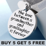 Grandparents Love Necklace - Buy 2 Get 1 Free - Buy 3 Get 2 Free - Buy 5 Get 5 Free + FREE SHIPPING