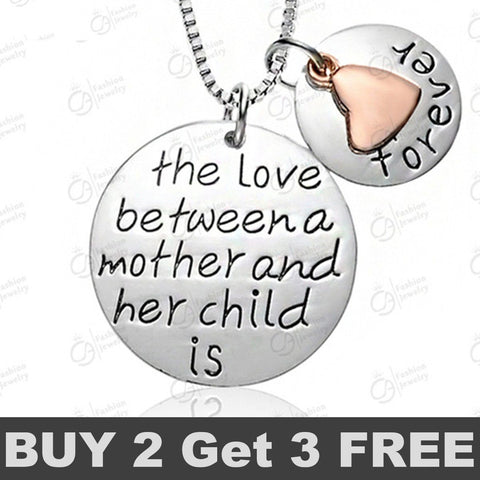 The Love Between a Mother Necklace Buy 2 Get 1 Free