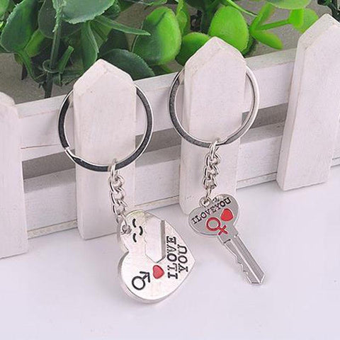 Couples I Love You Keychain plus FREE SHIPPING
