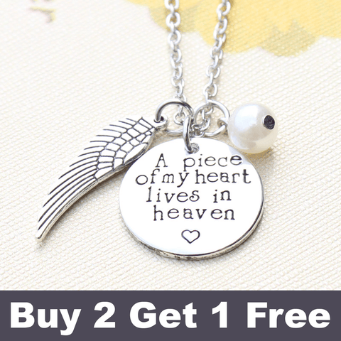 Piece Of My Heart Necklace - Buy 2 Get 1 Free - Buy 3 Get 2 Free - Buy 5 Get 5 Free