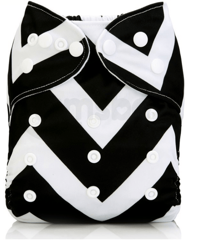 Adjustable Baby Cloth Diaper With Insert