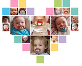 Funny Baby Pacifier BPA Free