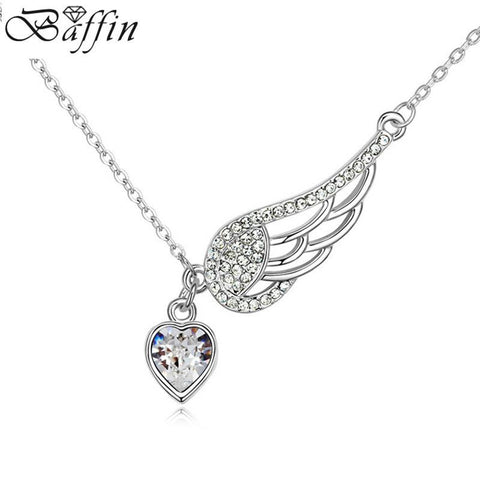SWAROVSKI Angel Heart Wing Necklaces & Pendants
