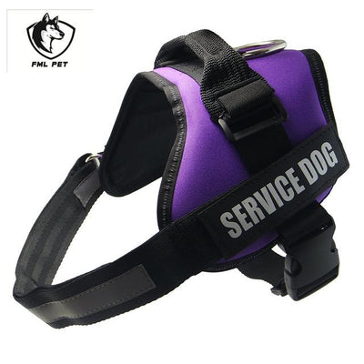 Adjustable Service Dog Harness For Small Medium Large Dogs