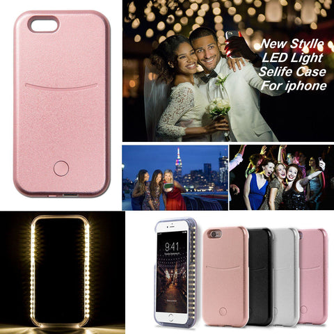 Selfie Luminous Phone Case For iPhone