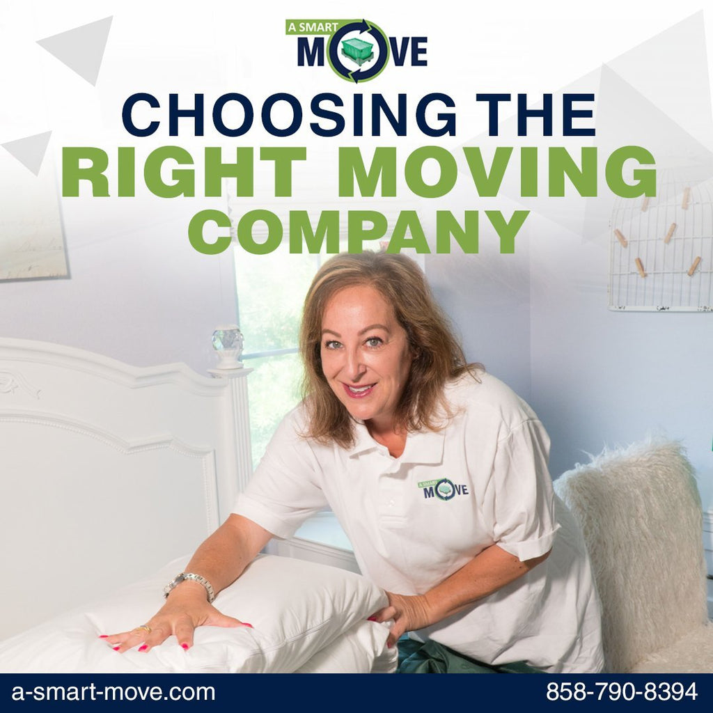 Choosing the Right Moving Company | A Smart Move | San Diego, CA