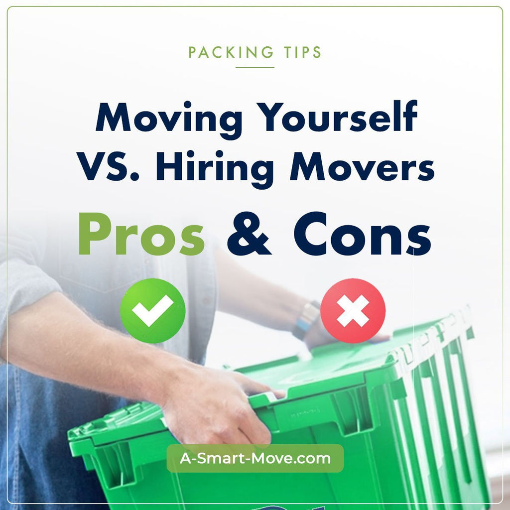 Hiring Movers vs. DIY Moving | A Smart Move | San Diego, CA