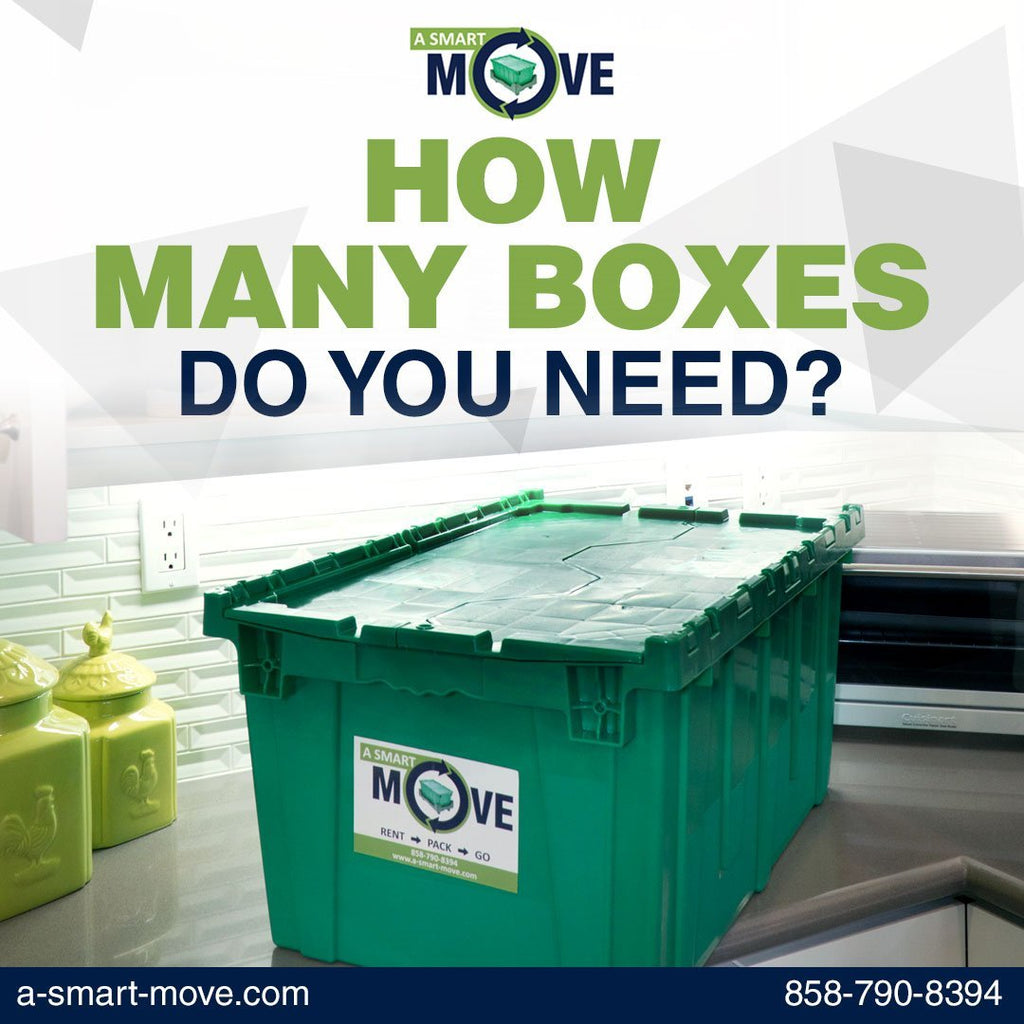 How Many Plastic Boxes Do You Need? | A Smart Move | San Diego
