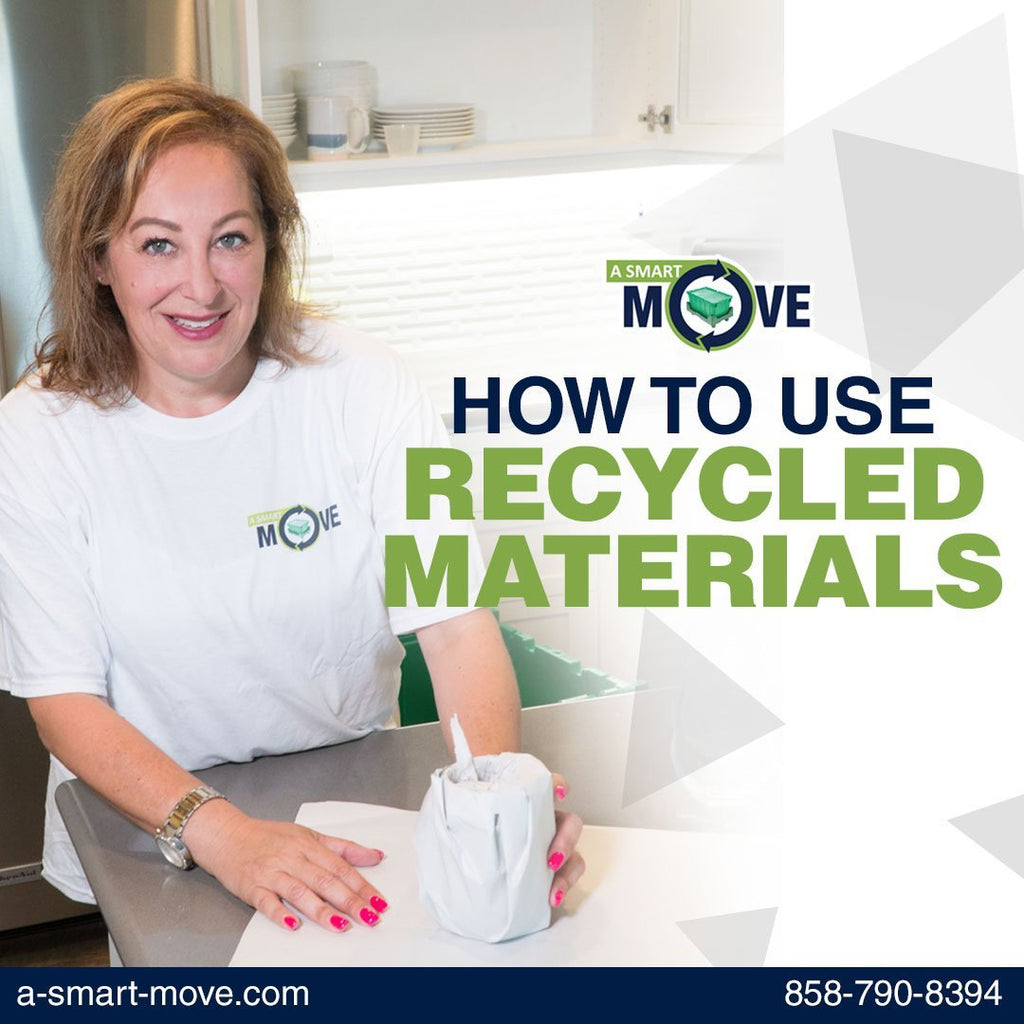 How to Use of Recycled Materials | A Smart Move | San Diego, CA