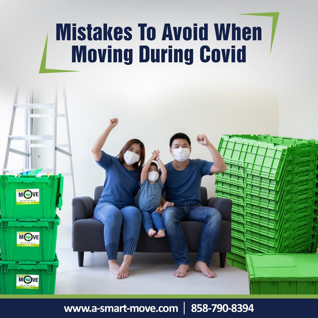 Mistakes to Avoid When Moving During the Coronavirus Pandemic