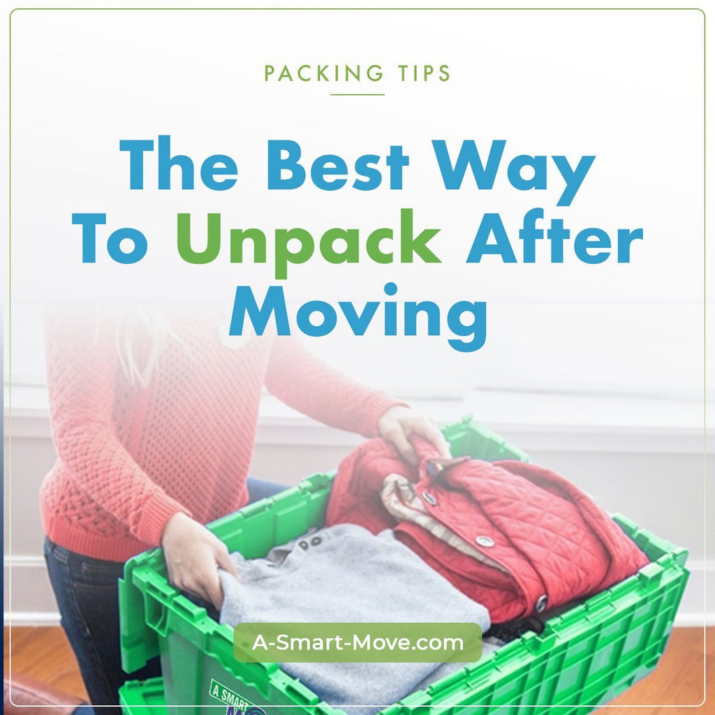 The Best Way to Unpack | A Smart Move | San Diego, CA