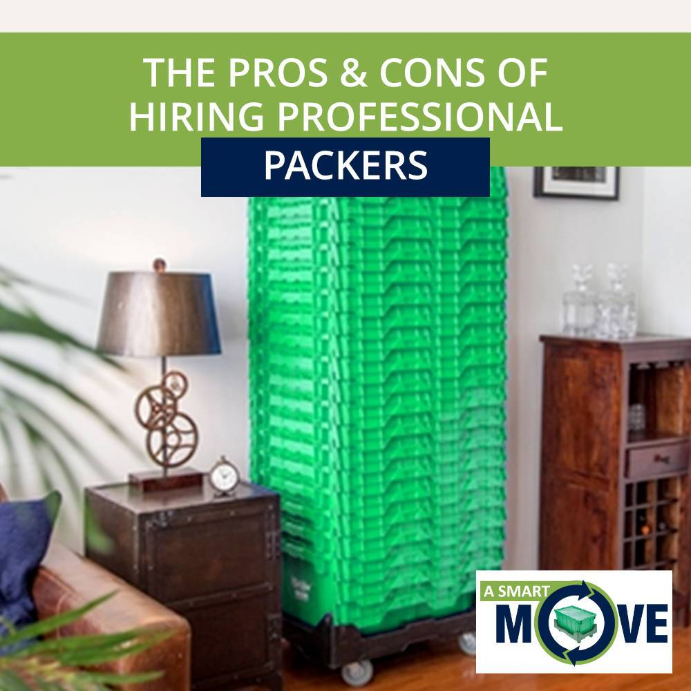 Why Hire Professional Packers | A Smart Move | San Diego, CA