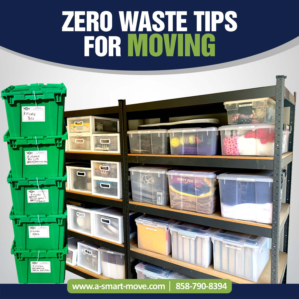Zero Waste Tips for Moving