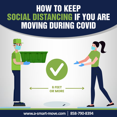 How To Keep Social Distancing If You Are Moving During Covid