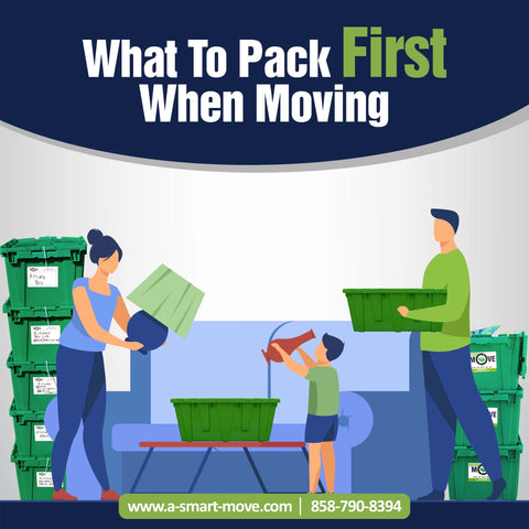 5 Items To Pack First When Moving