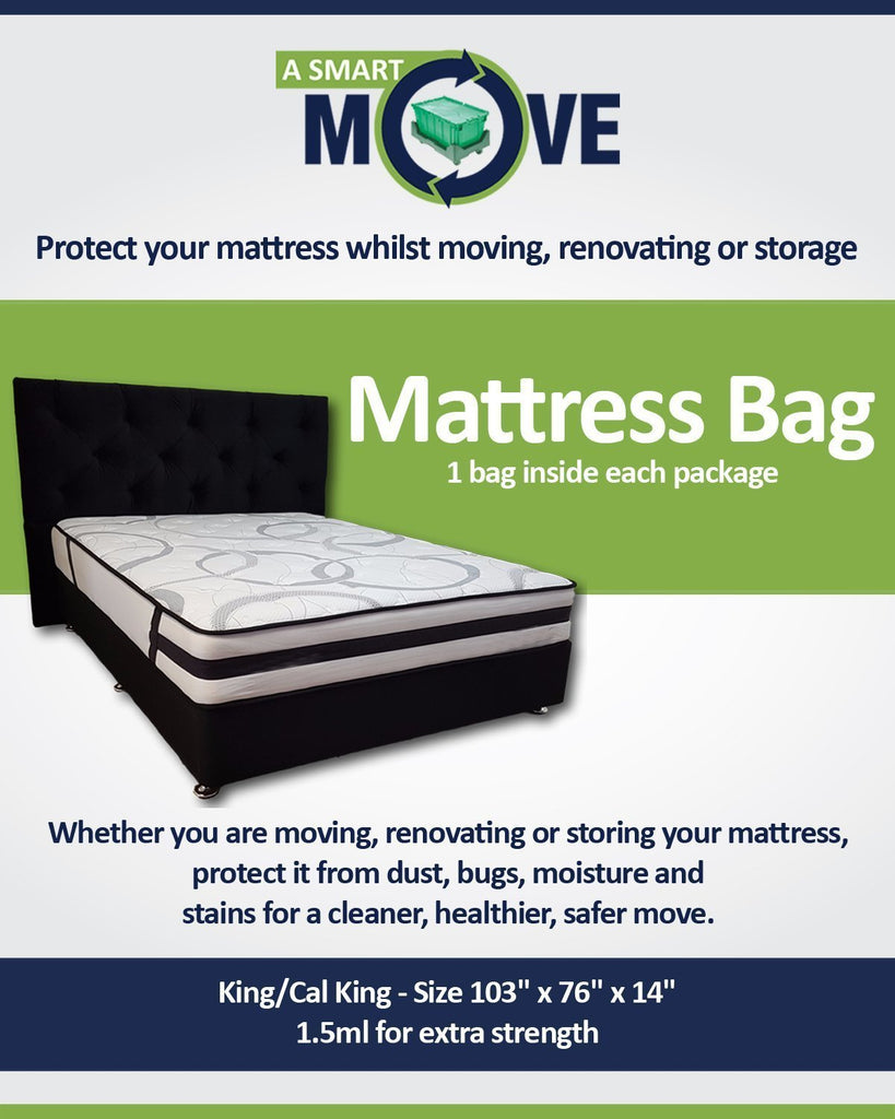 Full/Queen Mattress Bag - $10.00 - A SMART MOVE